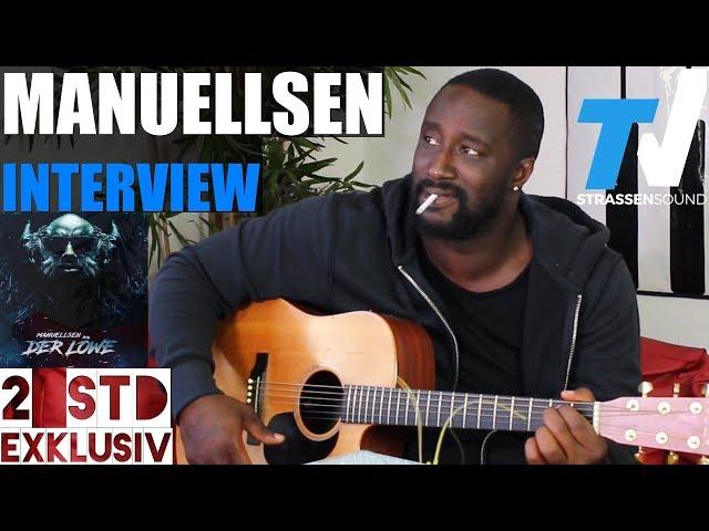 MANUELLSEN REALTALK Interview: Der Löwe, Rassismus, Bushido, Fler, Farid, Rocker, Kollegah, Hamad45
