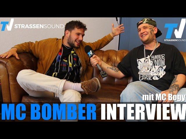 MC BOMBER Interview mit MC Bogy: Frauenarzt, Predigt, Berlin, Karate Andi, Morlockk Dilemma