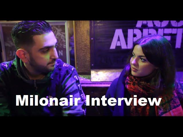 Milonair Interview - Haftbefehl, Alltagsrassismus, Straße, Knast, Realness, Karriere