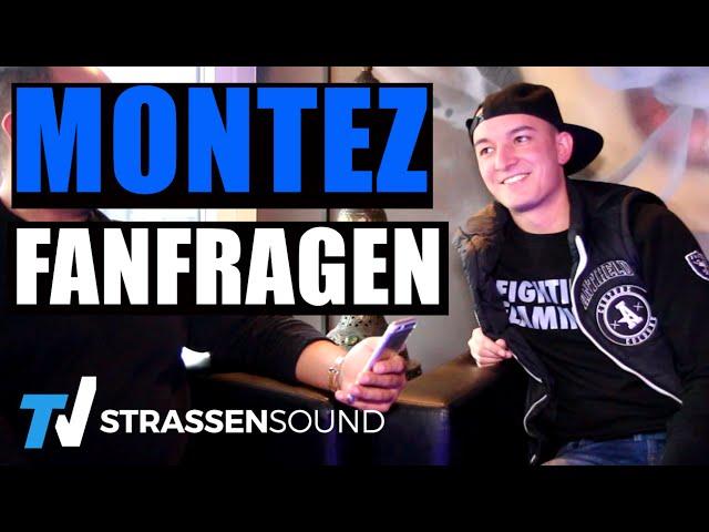 MONTEZ Fan Fragen: Vega, Kool Savas, Eminem, Ed Sheeran, Justin Bieber, RAF, Banger Musik, Gentleman
