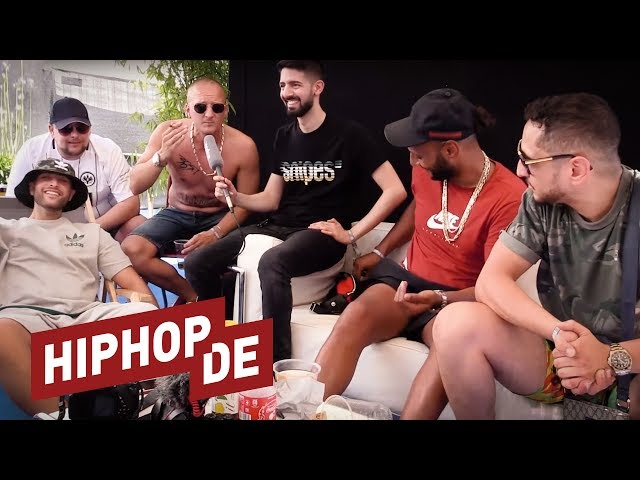 Nimo, Olexesh, Hanybal, Celo & Abdi: Viel Lob, etwas Beef & QVC-Action (Interview) – On Point Talk