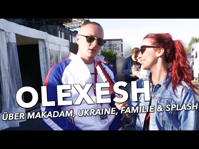 Olexesh über Makadam, die Ukraine, seine Familie & das splash! (16BARS.TV)