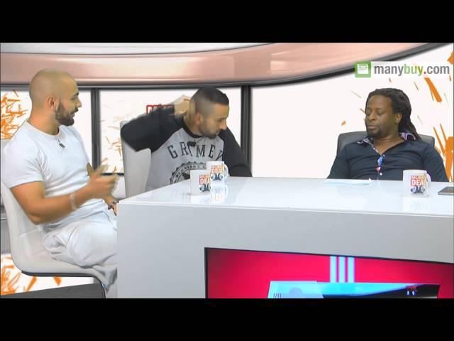 MusicDeal mit PA Sports,Kianush, Mola Adebisi und Choukri