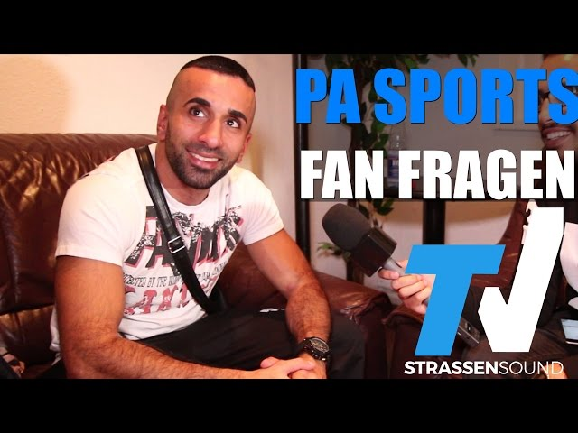 PA SPORTS Fan Fragen: Politik, The Game, Hamad45, Kurdo, Tobias Huch, Alpa Gun, BMW, Eko, Fler, KC