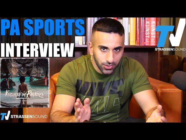 PA SPORTS Interview: VIP, Politik, SpongeBozz, Bonez, Shirin David, Mosh36, Julien, Kurdo, Sentino