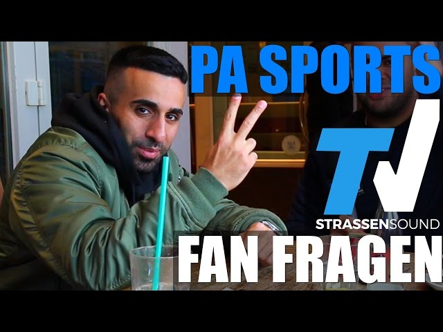PA SPORTS Fan Fragen: KC Rebell, Massiv Feature, Alpa Gun, Akademiker, Kay One, Kurdo, Kool Savas