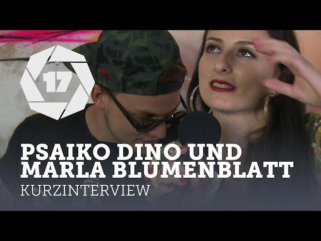 Was geht eigentlich bei: Psaiko.Dino und Marla Blumenblatt (splash! 17)