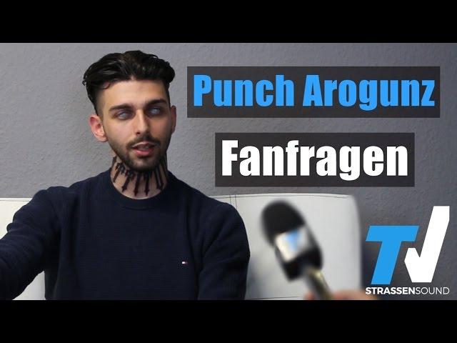 PUNCH AROGUNZ Fan Fragen: Dagi Bee, Label wechseln, Sido, Spongebozz, Daniel Gun, Orgi, Horrorcore