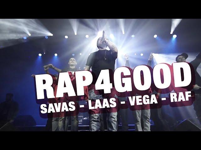 RAP4GOOD mit Kool Savas, Vega, RAF Camora, Laas Unltd, Curse & Montez (16BARS.TV)