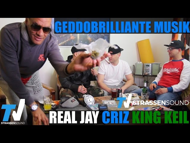 REAL JAY, CRIZ & KING KEIL INTERVIEW: Geddobrilliante Musik, MC Bogy, Frankfurt, Azad, Jonesmann