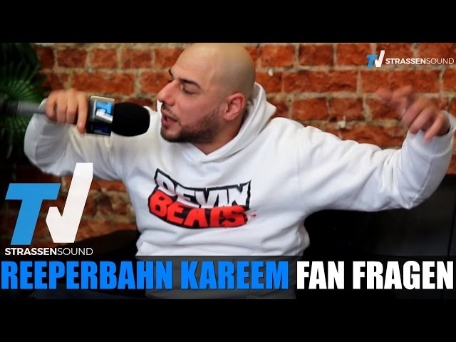 REEPERBAHN KAREEM Fan Fragen: 187, Hamburg Rap, Polizei, AK Ausserkontrolle, Babacan, Disarstar, BOZ