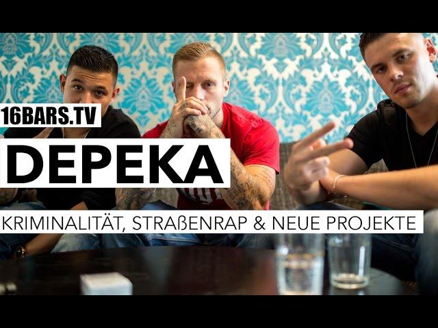 DePeKa über Straßenrap, Kriminalität & neue Projekte (16BARS.TV)