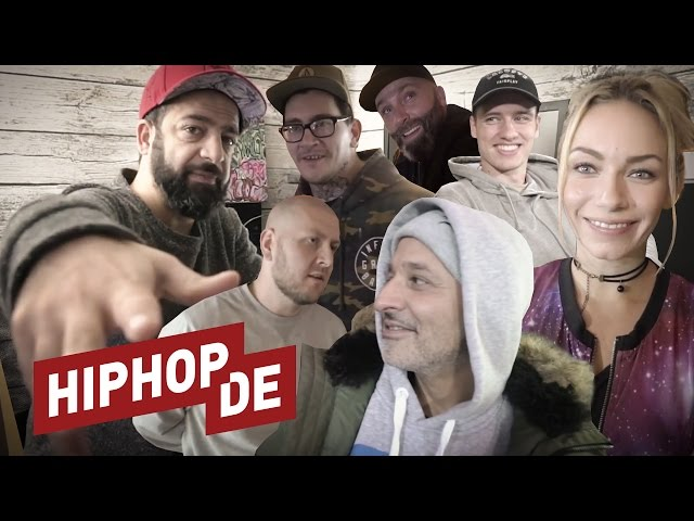 Rooz, Visa Vie, Jumpa, Melbeatz und Co. – #Raptags2016 Behind the Scenes #waslos