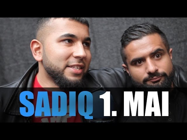 SADIQ INTERVIEW: 1.MAI BERLIN KREUZBERG, KANACKEN JAM, TRAFIQ, CHARTS - TV Strassensound