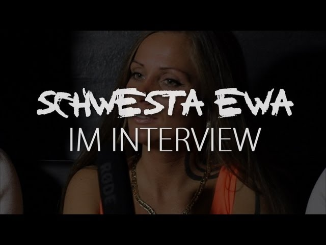 SCHWESTA EWA über ihr Album KURWA, Feature mit Fler uvm. (Interview) RAP-CITY.TV