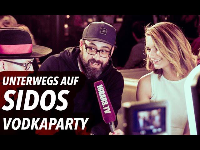 Unterwegs auf sidos Vodka-Releaseparty: Haftbefehl, Podolski & Olli Schulz (16BARS.TV)