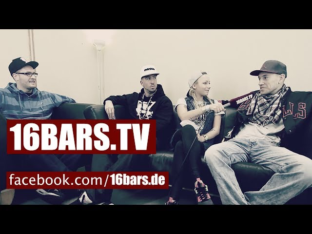 Interview: Silla, Liquit Walker & JokA in Berlin (16BARS.TV)