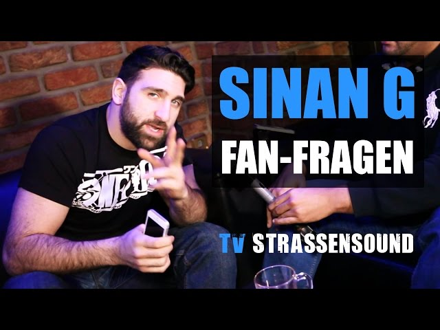 SINAN G Fan Fragen: Kollegah, Kay One, Massiv, Rooz, Fler, Sido, KC, Shindy, Gillette Abdi, Andale