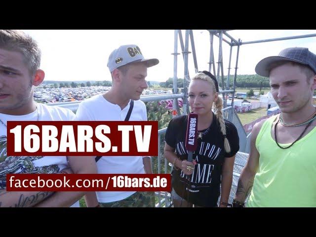 splash! 2013 Spezial #10: 257ers & Visa Vie auf dem Zeltplatz (16BARS.TV)