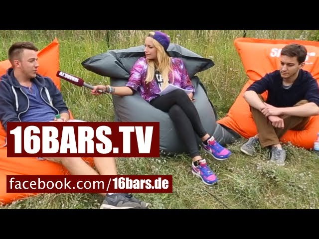 splash! Spezial #20: Pimf & Gerard im Interview (16BARS.TV)