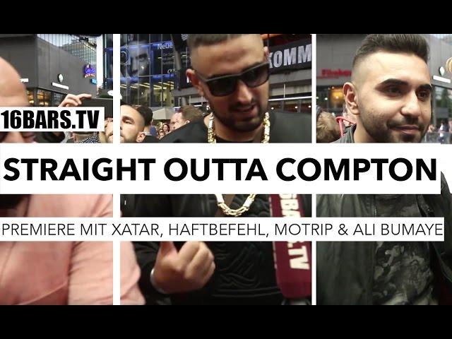 Straight Outta Compton Premiere mit Haftbefehl, MoTrip, Xatar, Ali Bumaye & Co. (16BARS.TV)
