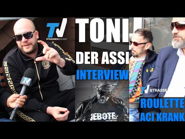 TONI DER ASSI Interview: Jebote, Rockergang Austritt, Fler, Aci Krank, Roulette, Böhmermann, Merkel