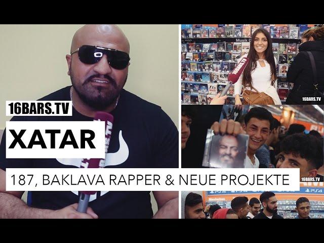 Xatar Autogrammstunde: 187 Strassenbande, Baklava Rapper und nächste Projekte (16BARS.TV)