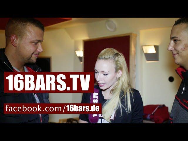 Zu Besuch bei Kollegah & Farid Bang im Studio (16BARS.TV)
