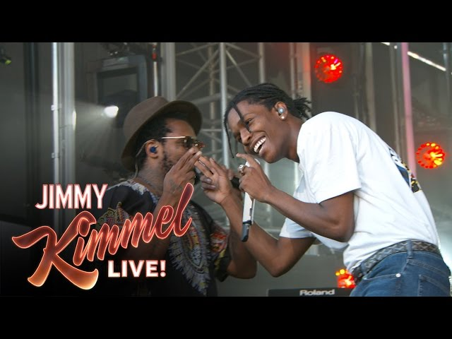 A$AP Rocky, ScHoolboy Q - Electric Body (live)
