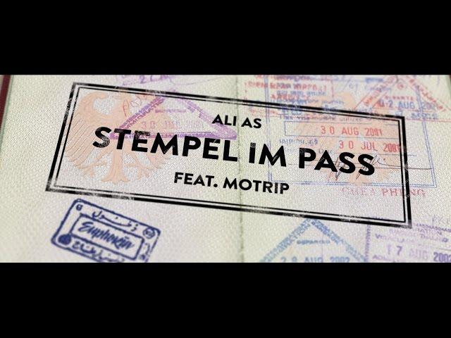 Ali As, MoTrip - Stempel im Pass