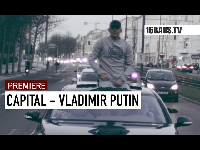 Capital Bra, Hijackers - Vladimir Putin (16BARS.TV PREMIERE)