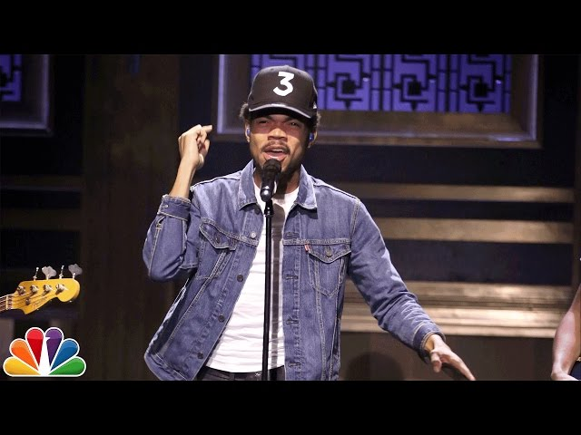 Chance The Rapper - Blessings (live)