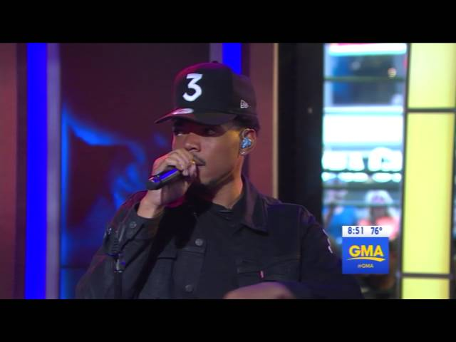 Chance The Rapper - Summer Friends (live)