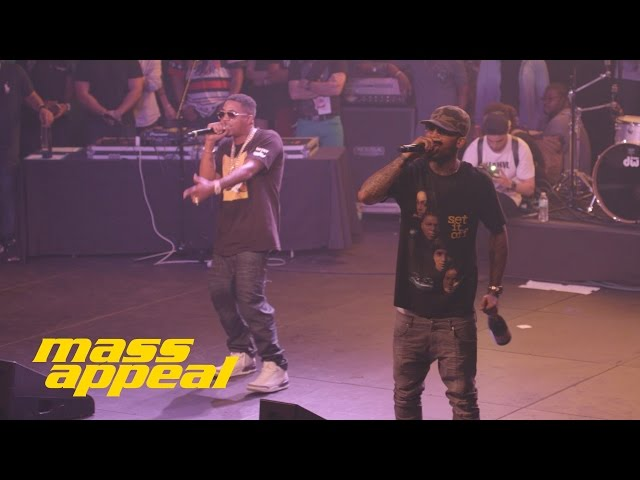 Dave East, Nas - Forbes List (live)