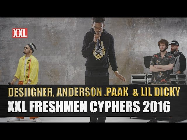 Desiigner, Lil Dicky, Anderson .Paak - XXL Freshmen Cypher 2016