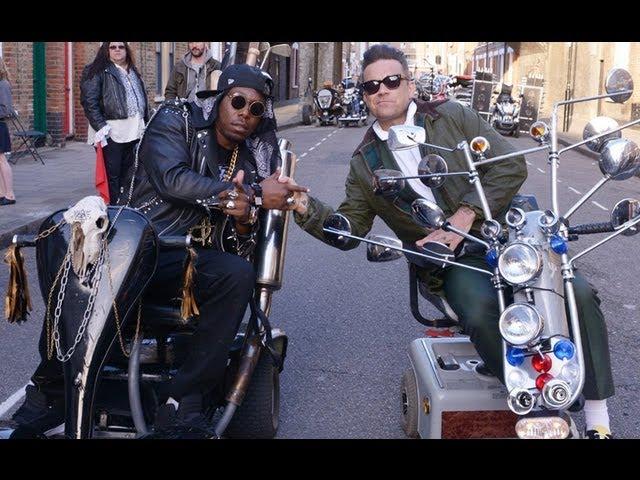 Dizzee Rascal, Robbie Williams - Goin' Crazy
