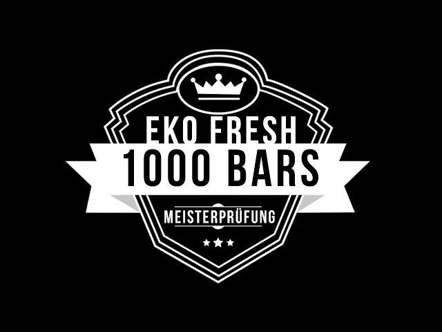 Eko Fresh, Shindy, Isy B, Phat Crispy - 1000 Bars (Die Meisterprüfung)