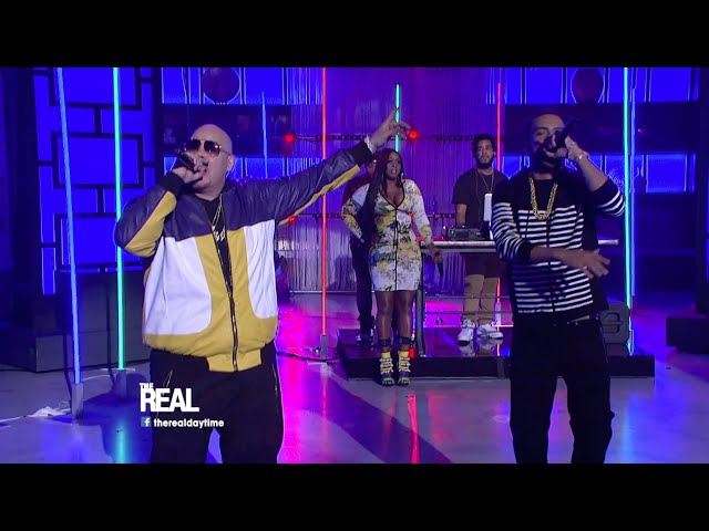 Fat Joe, Remy Ma, French Montana - All The Way Up (live)
