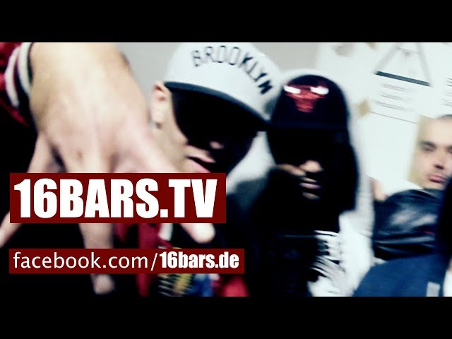 Lakmann, AL Kareem, Rapsta, Marvin Game, Morten - 4 Gewinnt (16BARS.TV PREMIERE)