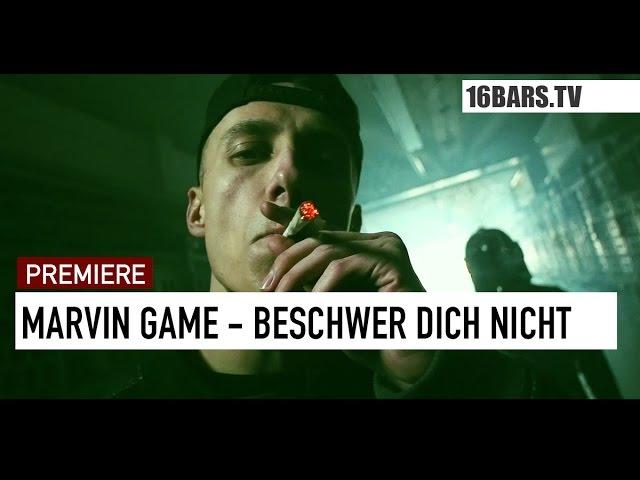 Marvin Game, Morten - Beschwer dich nicht (16BARS.TV PREMIERE)