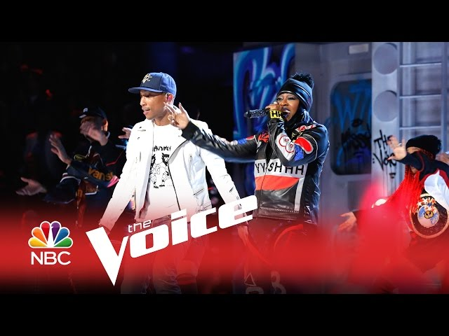Missy Elliott, Pharrell - WTF (Where They From) (live)