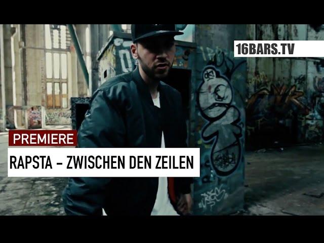 Rapsta - Zwischen den Zeilen (16BARS.TV PREMIERE)