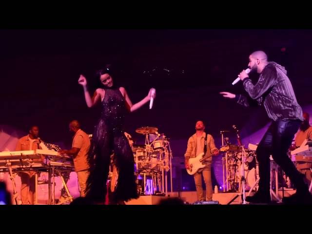 Rihanna, Drake - Work / Jumpman (live)