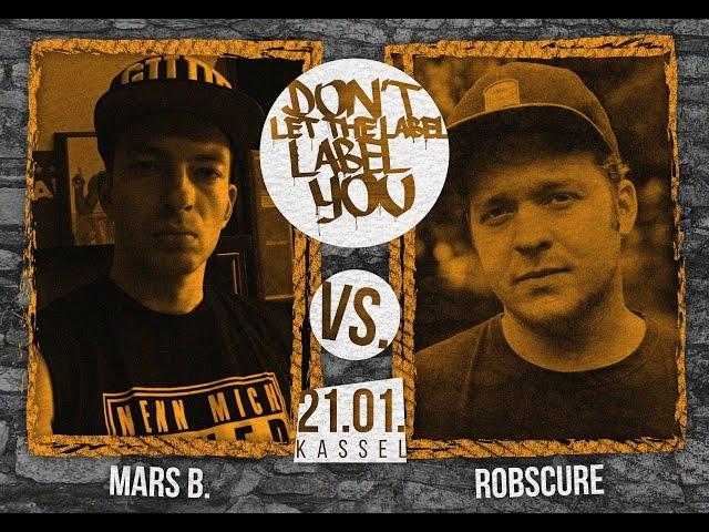 DLTLLY // Rap Battles // Robscure vs. Mars B.