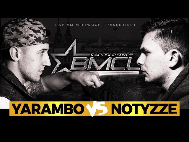 BMCL RAP BATTLE: YARAMBO VS NOTYZZE (BATTLEMANIA CHAMPIONSLEAGUE)