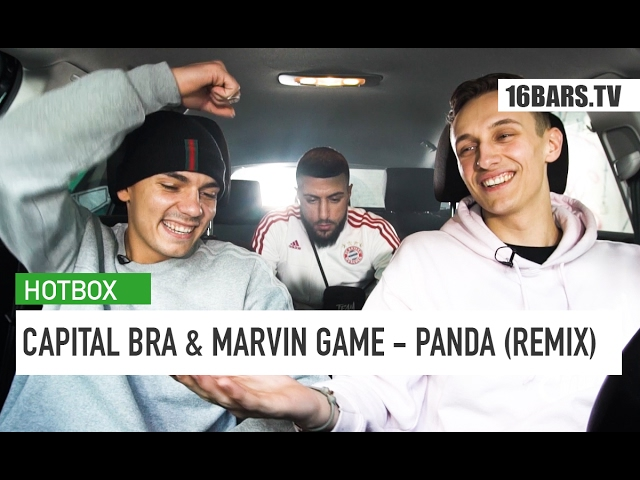 Capital Bra, Marvin Game - Panda (Hotbox Remix)