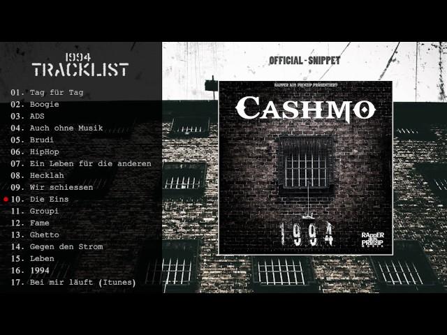 CASHMO ►1994◄ offizielles Snippet (VÖ 31.03.17)