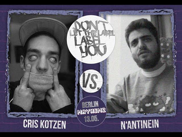 DLTLLY // Rap Battles // N'antinein VS. Cris Kotzen
