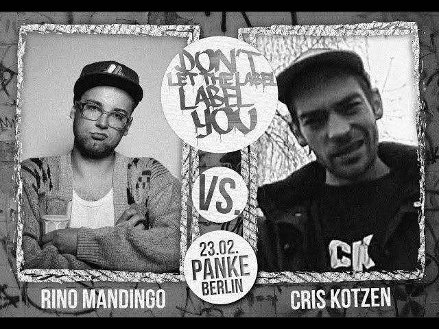 DLTLLY // Rap Battles // Rino Mandingo vs. Cris Kotzen