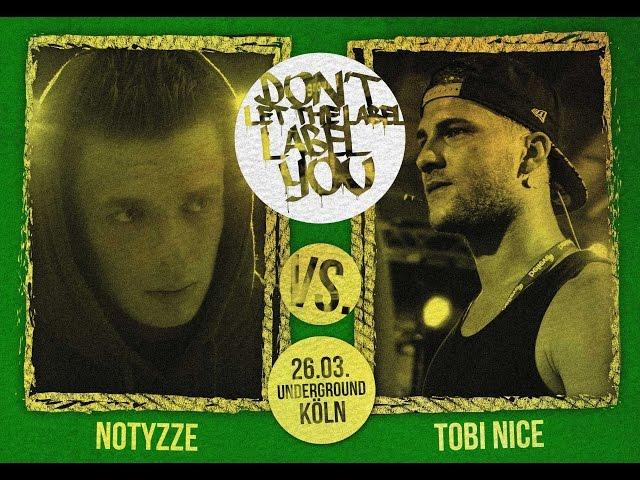 DLTLLY // Rap Battles // Tobi Nice VS Notyzze